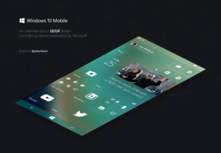 Designer envisions a more polished Windows 10 Mobile user interface (concept pictures)
