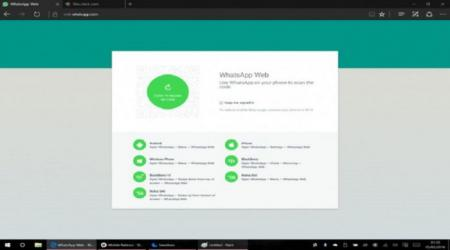 WhatsApp Web is now officially compatible with Microsoft Edge