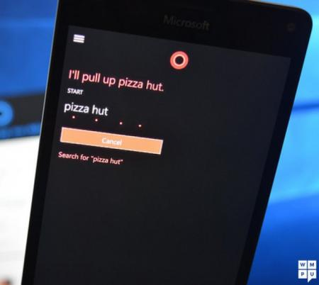 Cortana will open certain websites on Windows 10 Mobile without to pin them first