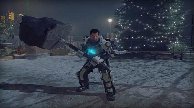 Leaked Dead Rising 4 screens feature Christmas, gore, and a super-powered suit