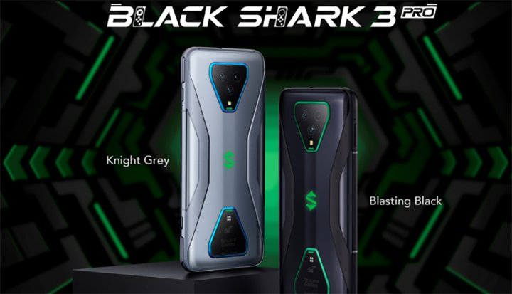 black shark 3 and 3 Pro